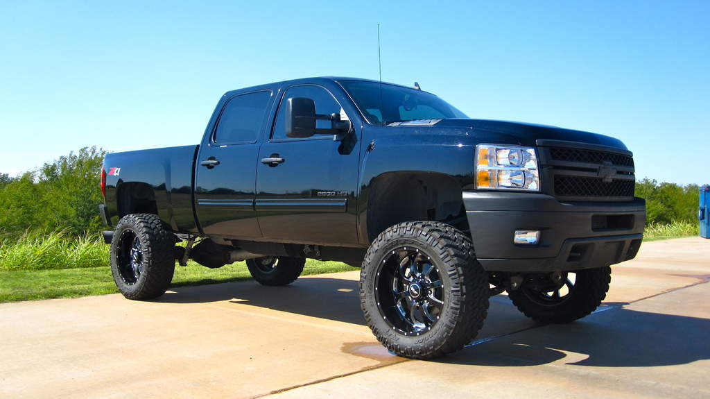 Blacked Out Lifted Trucks For Sale Html Autos Post