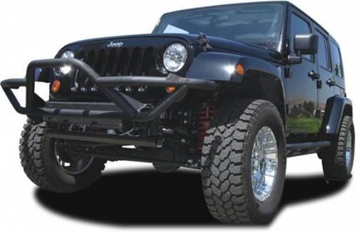 TRAIL FX - TRAIL FX ROCK CRAWLER FRONT BUMPER 07-14 Jeep Wrangler