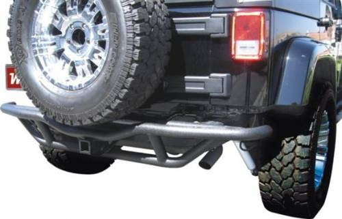 TRAIL FX - TRAIL FX ROCK CRAWLER REAR BUMPER 07-14 JEEP WRANGLER