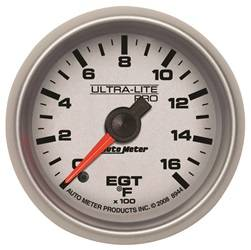Auto Meter - Auto Meter 8944 Ultra-Lite Pro Pyrometer Gauge