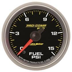 Auto Meter - Auto Meter 8661 Pro-Comp Pro Fuel Pressure Gauge