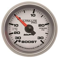 Auto Meter - Auto Meter 8959 Ultra-Lite Pro Boost/Vacuum Gauge