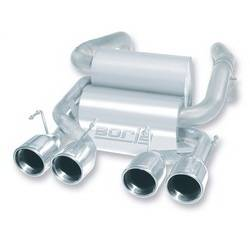 Borla - Borla 11767 Touring Rear Section Exhaust