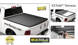 Bestop - Bestop 14008-01 EZ Fold Hard Tri-Fold Tonneau Cover