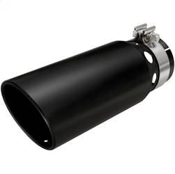 Magnaflow Performance Exhaust - Magnaflow Performance Exhaust 35220 Black Series Stainless Steel Clamp-On Exhaust Tip - Image 1